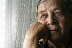 senior suffering from addiction